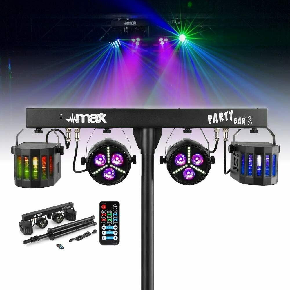 LED Party Bar Light Par Derby All in 1 Disco Stage FX Lighting System with Stand