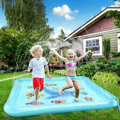 Air Sprinkle and Splash Water Play Mat
