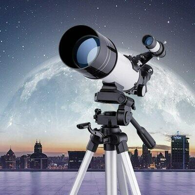 Eono Astronomy Telescope for Beginners Basic Moon Finder Scope 400/70mm