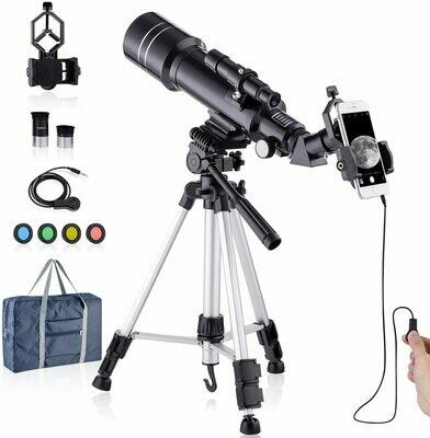 Telescope HD 400/70mm Professionals Telescope for Kids Adults