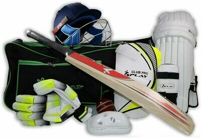 Complete Cricket Kit Set - Right Handed   Willow Cricket Bat