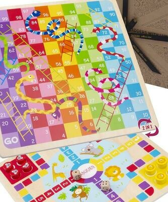 Let's Play Snakes and Ladders with Ludo