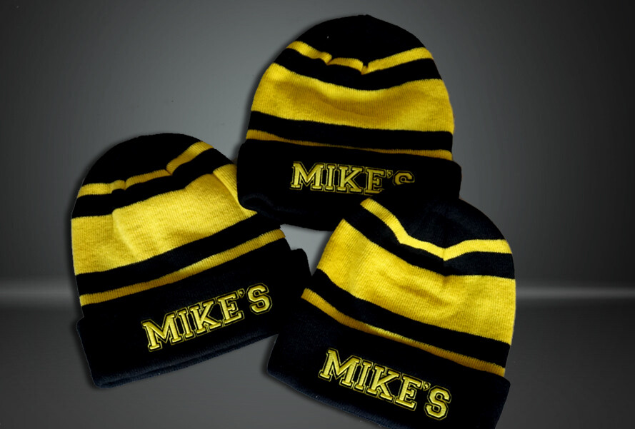 Mike's Team Exclusive Black & Yellow Colourway - Beanie