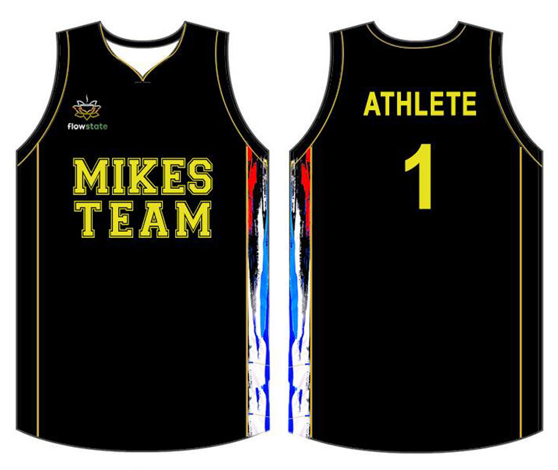 Mike's Team Basketball Jersey