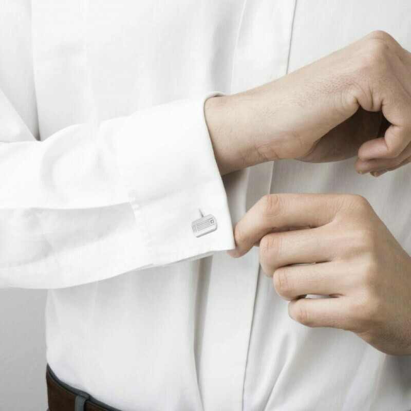 Class Cufflinks With Diamond