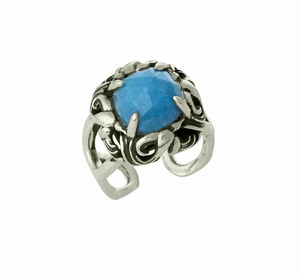 Winged Halo Ring