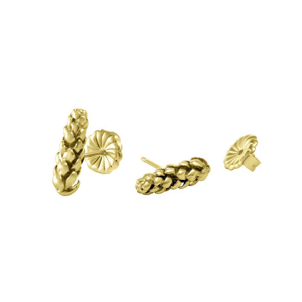 Bermuda Pine Stud Earrings