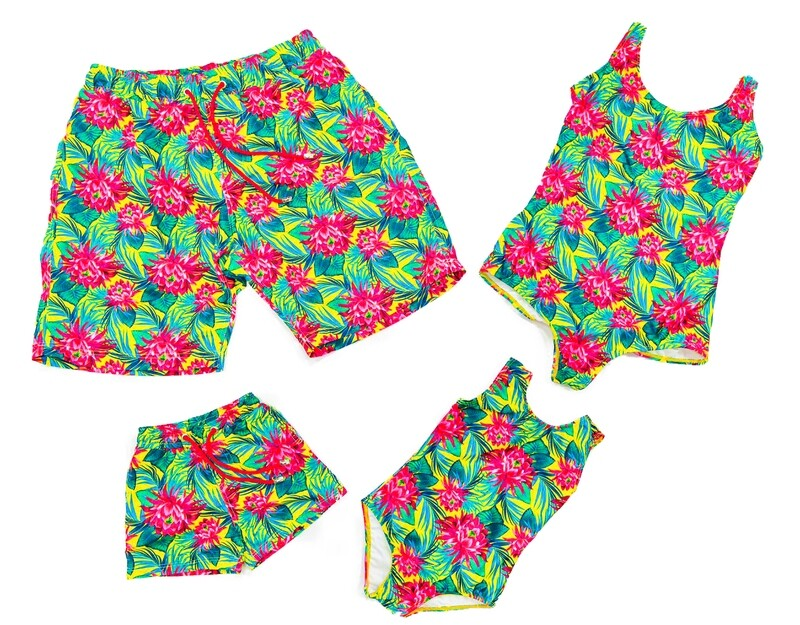 Tropical Pink Flower Print