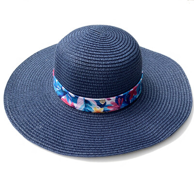 Floppy Beach Hat Royal Blue