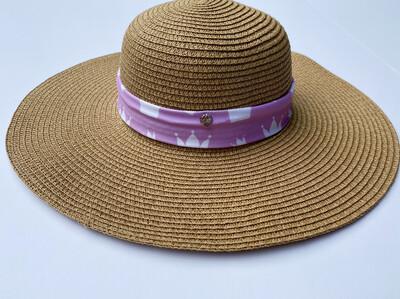 Floppy Beach Hat Brown