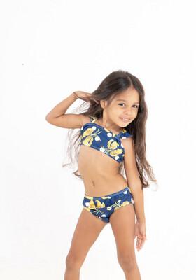 Tropical Yellow Flowers-Girls