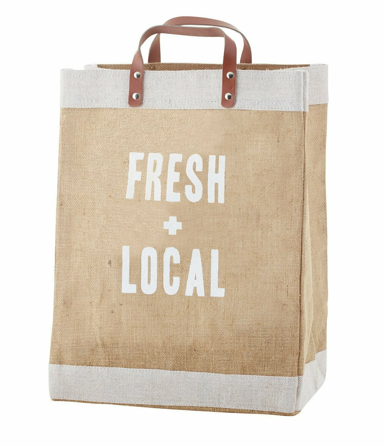 """Market Tote - """"Fresh and Local"""""""