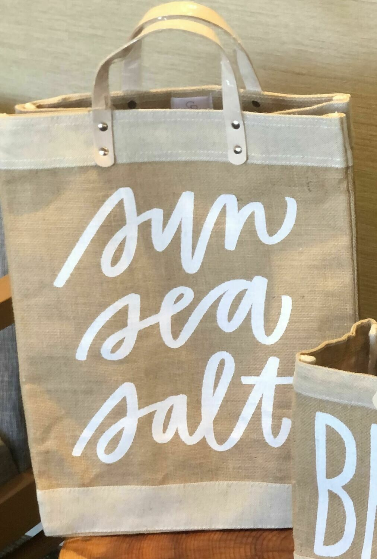 Market Tote - Sun Sea Salt, Large