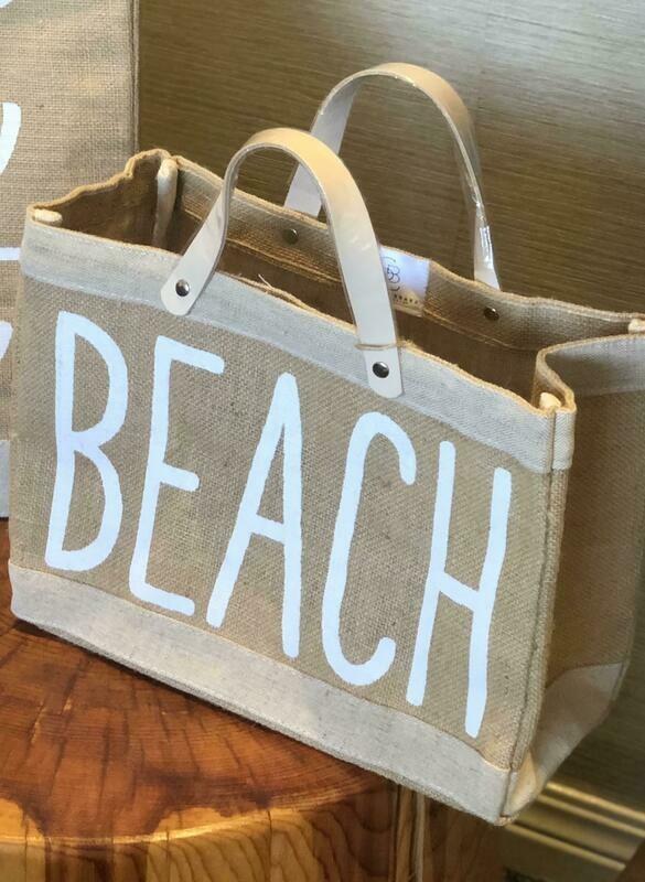 Mini Market Tote - BEACH