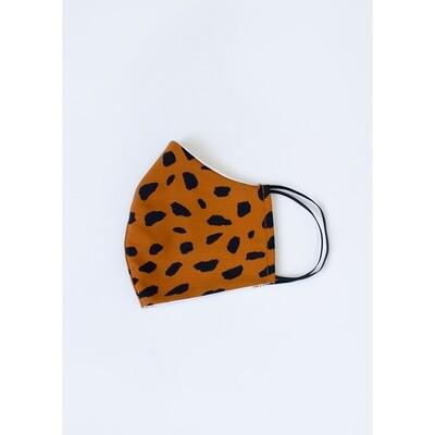 Animal print mask