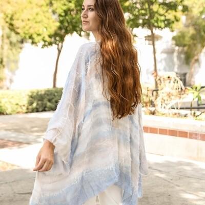 Horizontal Dip Dye Kimono