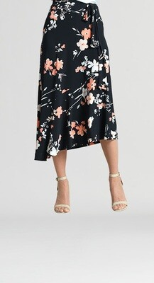 CSW Floral Pull On Skirt