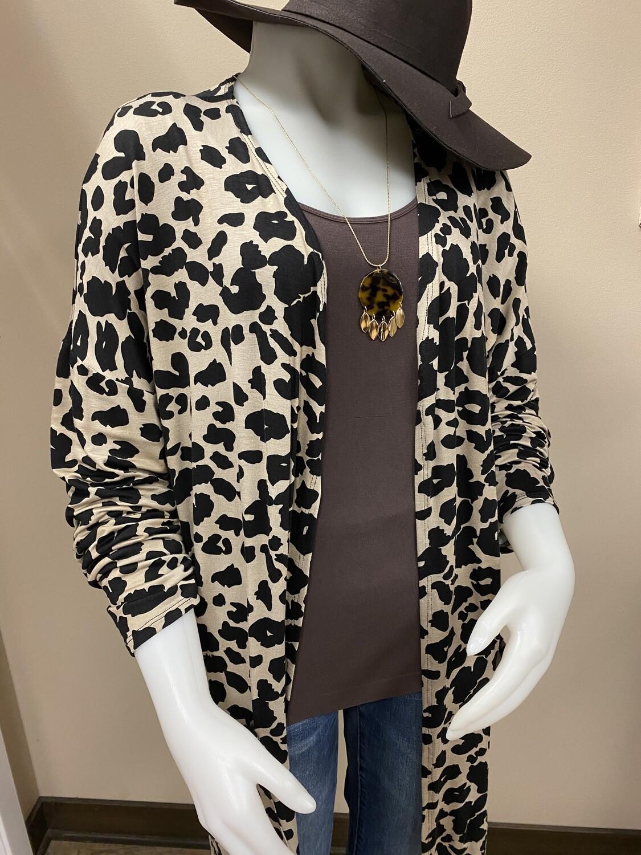 BR+ Leopard Cardi