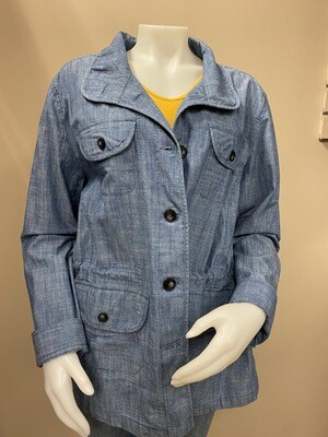 KH Plus Denim Jkt - 66002
