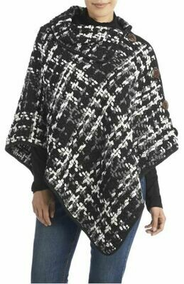 C+C Winslow Button Neck Poncho
