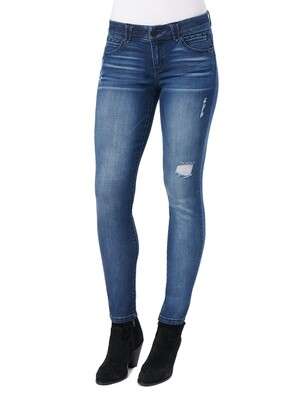 Dem Ab-solution Distressed Lift Jegging