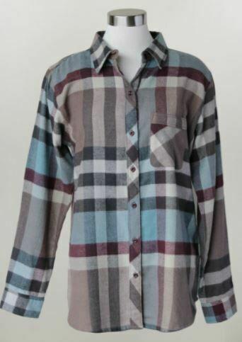 KH Plus Button Down Flannel