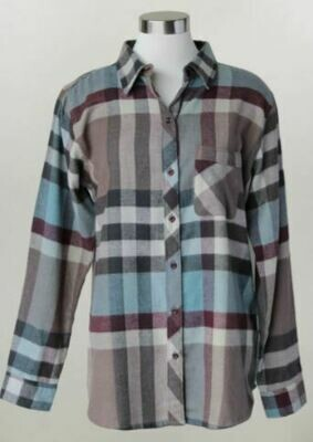 KH Plus Button Down Flannel