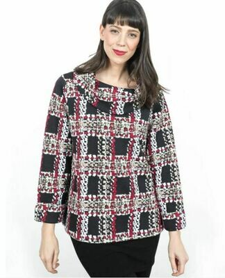 SP Wren Multi Col Tweed Pullover