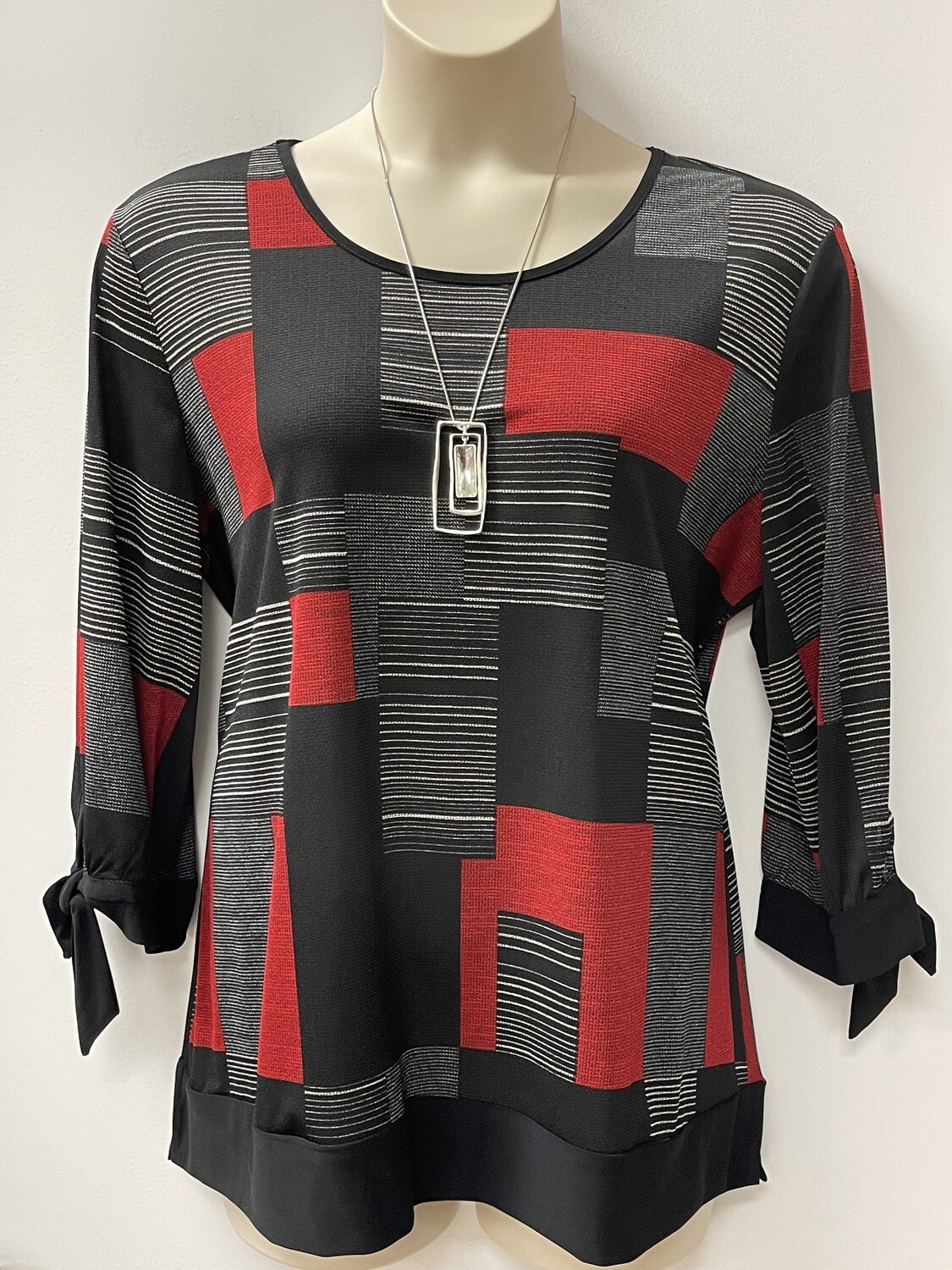 Modes Red/Blk Tunic
