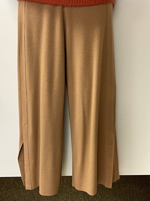 Sis Sweater Pants w/Side Slit