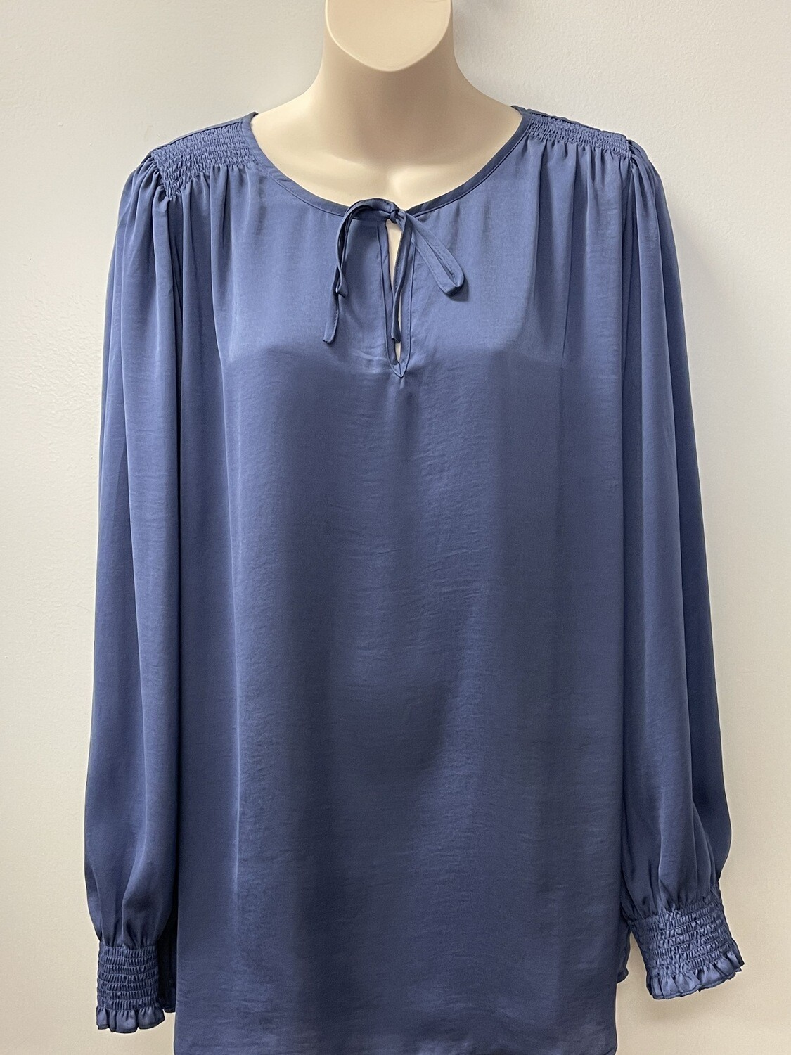 Yesta Rouched Blouse