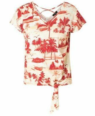 Yest Irza S/S Tropical w/Tie