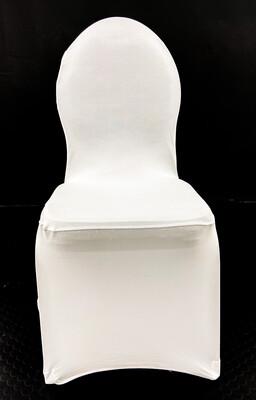 Stuhlhusse Royal in Weiß