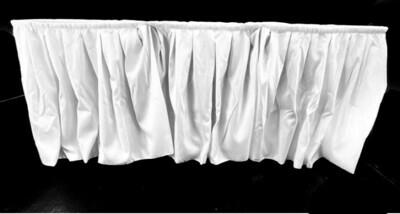 Skirting Buffetumrandung Weiß in diversen Größen
