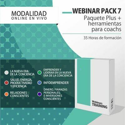 Pack Cursos Online 7:  PACK COACH (Pack Full + Herramientas para Coach's y Terapeutas) + PLANIFICACIÓN CONSCIENTE