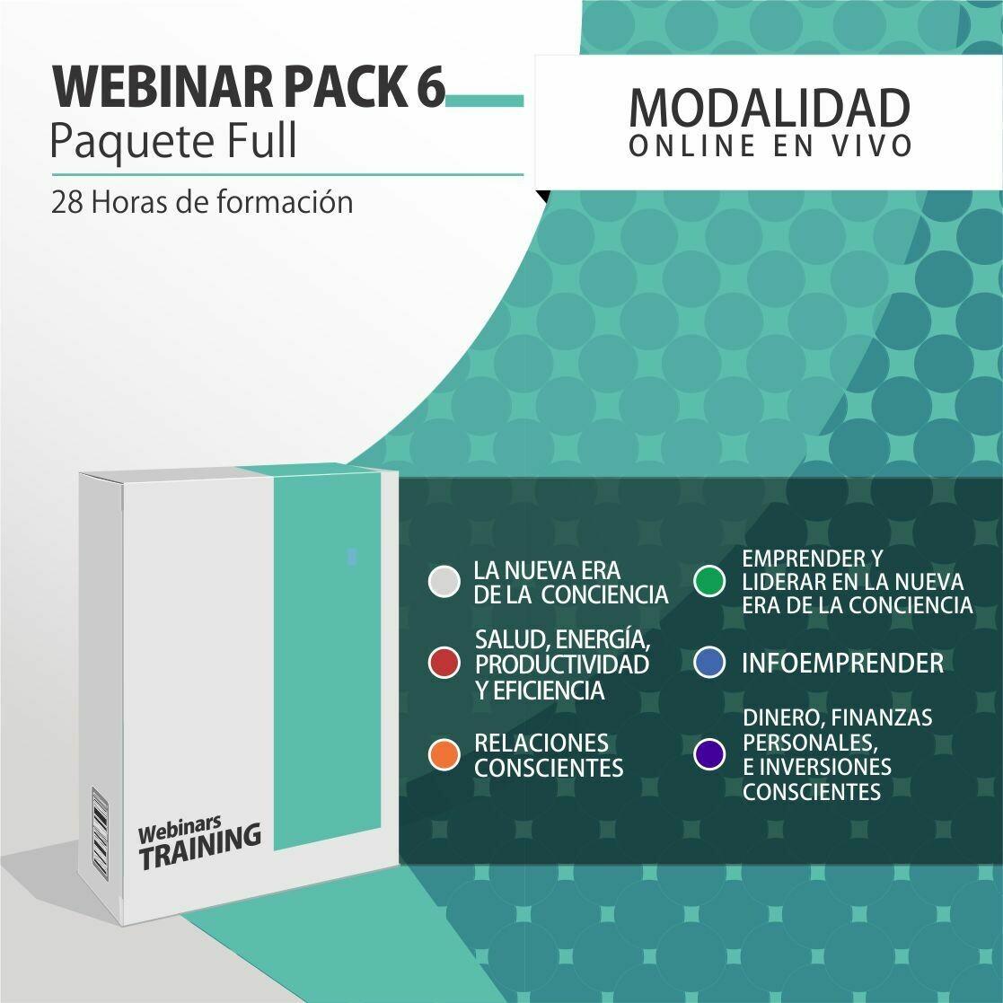 Pack Cursos Online 6:  PACK FULL (Todos los cursos + PLANIFICACIÓN CONSCIENTE)