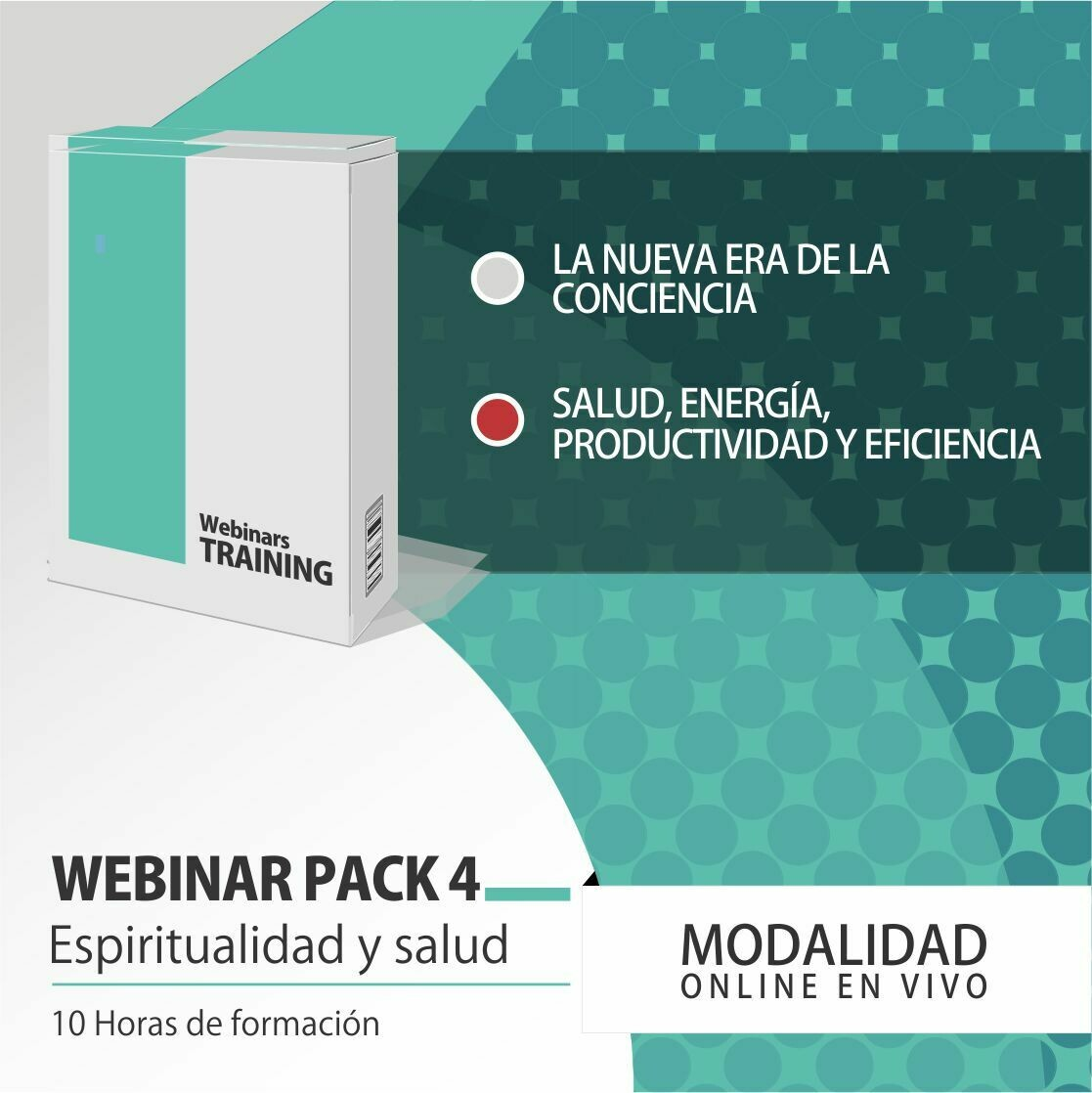 Pack Cursos Online 4:  PACK ESPIRITUALIDAD Y SALUD INTEGRAL
