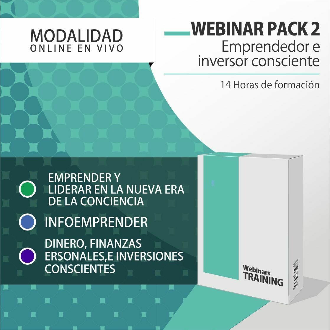 Pack Cursos Online 2:  PACK EMPRENDEDOR E INVERSOR + PLANIFICACIÓN CONSCIENTE