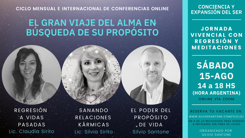 2020-08-15 - Ciclo Mensual e Internacional de Conferencias Online