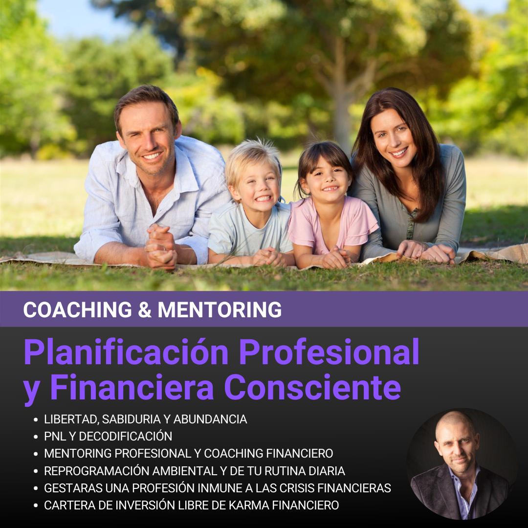 Sesiones para Planificación Profesional y Financiera Consciente (Pack de 3 Sesiones)
