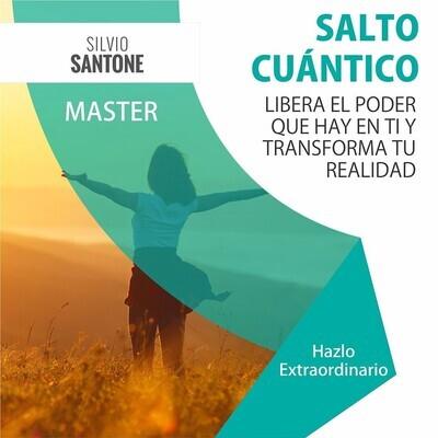 Master de 4 Días: Salto Cuántico (La Ciencia de la Conciencia para liberar el poder que hay en ti y transformar tu realidad)