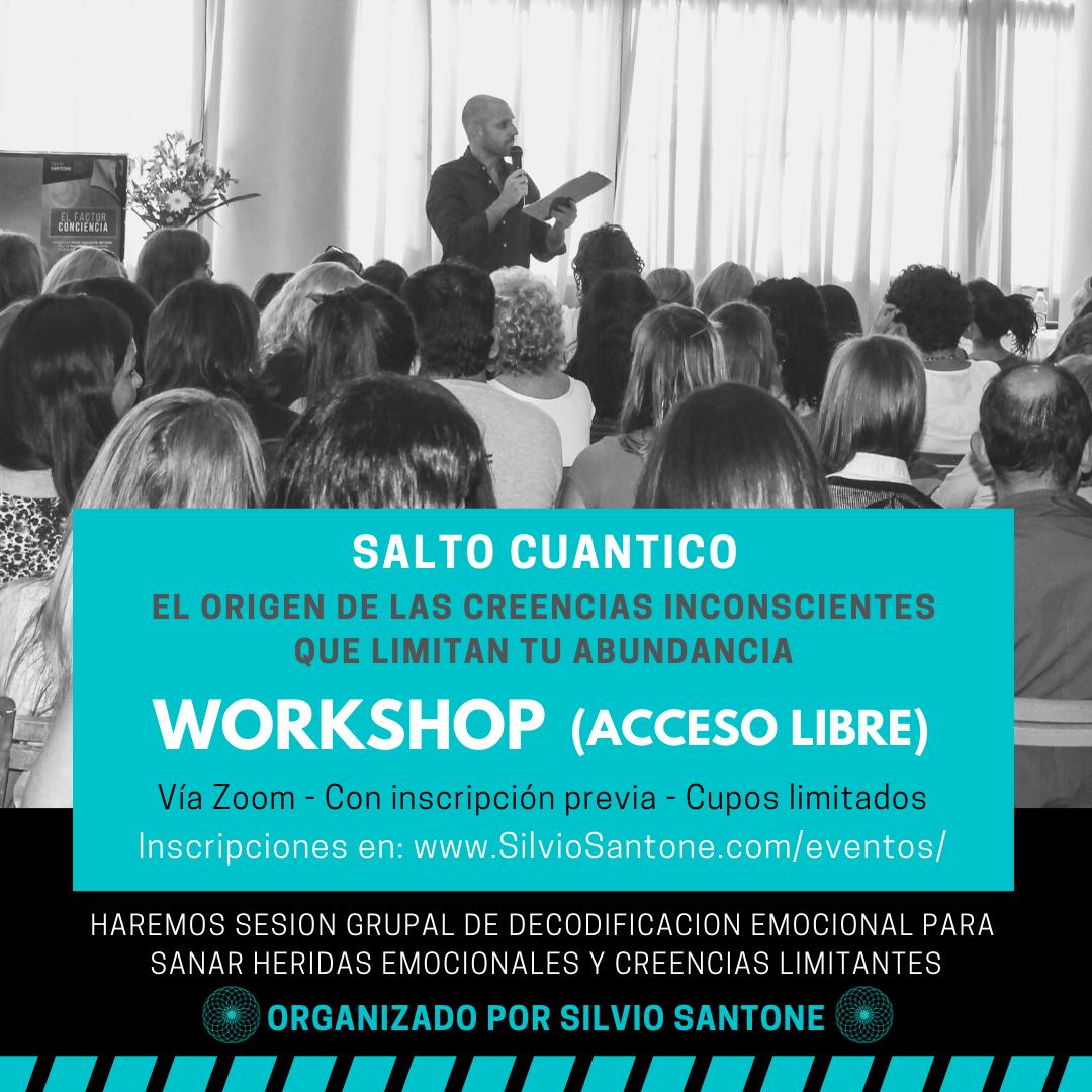 Workshop Online de Acceso Libre: Salto Cuántico