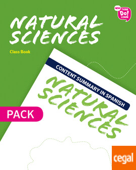 4º Primaria New Think Do Learn Natural 4 Class Book Pack (Andalucía)
