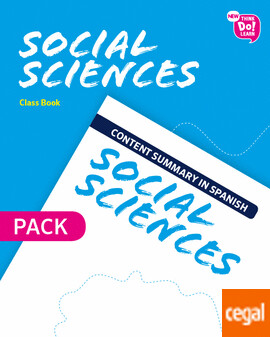 6º Primaria New Think Do Learn Social 6 Class Book Pack (Andalucía)