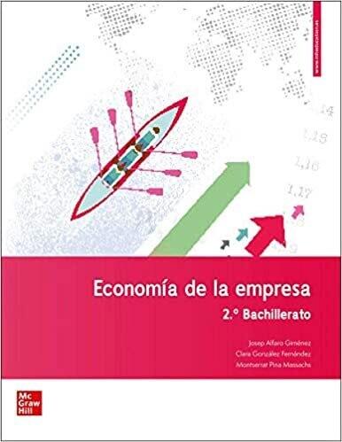 2º Bach Economía Y Organización De La Empresa 2º Bach