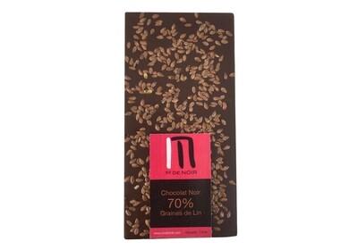 Dark chocolate Linseed bar