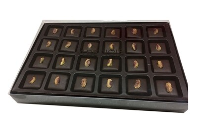 Chocolate-covered Marzipan 24 pcs