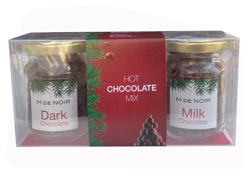 Hot Chocolate kit 2 flavors