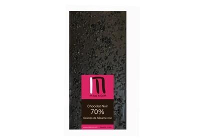 Dark chocolate black Sesame bar