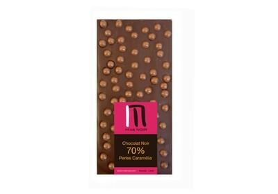 Dark chocolate Caramélia pearls